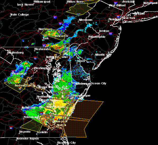 Radar Image for Severe Thunderstorms near Port Deposit, MD at 5/10/2018 6:54 PM EDT