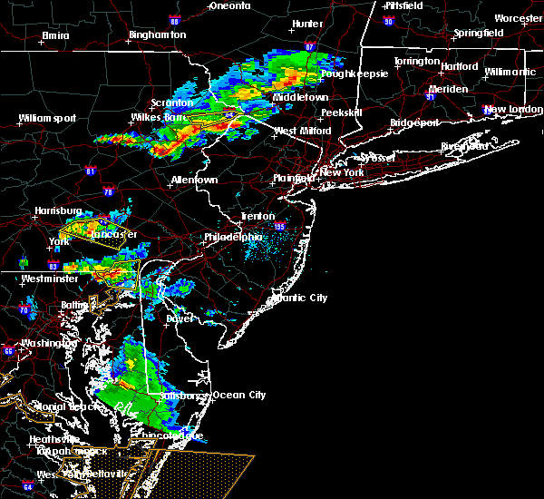 Radar Image for Severe Thunderstorms near Fivepointville, PA at 5/10/2018 7:03 PM EDT