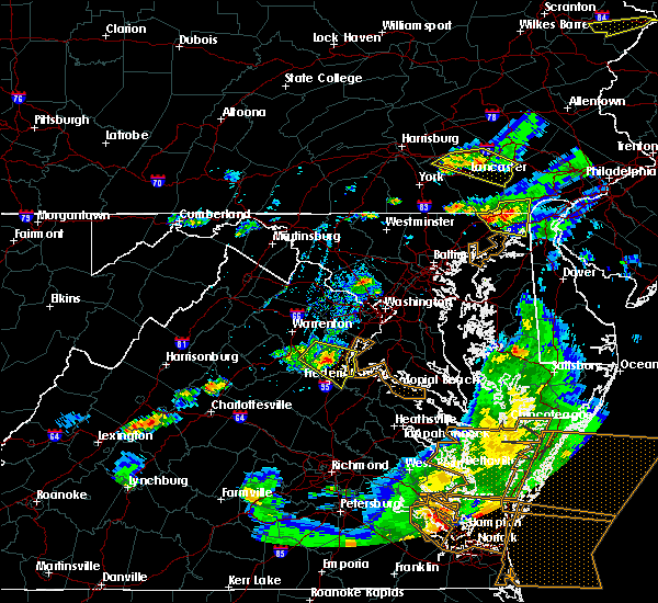 Radar Image for Severe Thunderstorms near Southern Gateway, VA at 5/10/2018 7:06 PM EDT