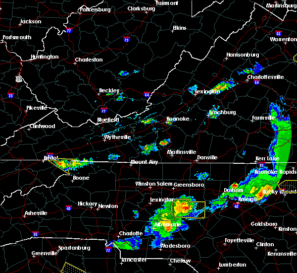 Radar Image for Severe Thunderstorms near Mountain City, TN at 5/10/2018 7:16 PM EDT