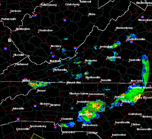 Radar Image for Severe Thunderstorms near Mountain City, TN at 5/10/2018 7:26 PM EDT