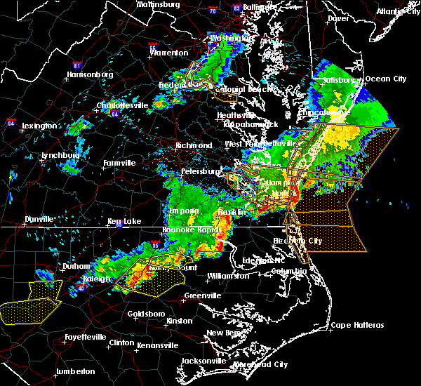Radar Image for Severe Thunderstorms near Rocky Mount, NC at 5/10/2018 7:50 PM EDT