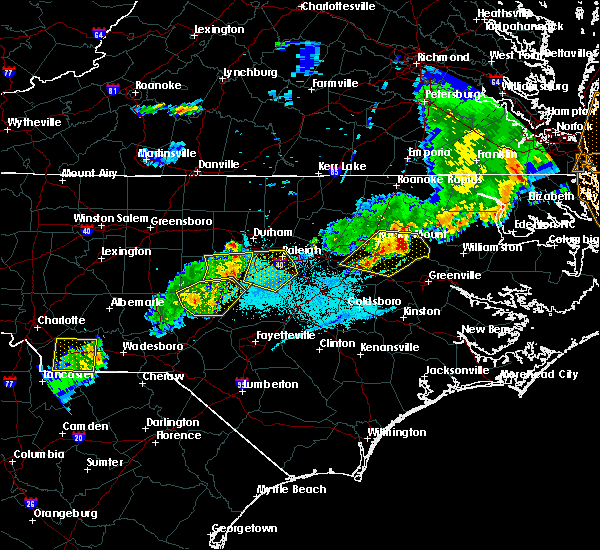 Radar Image for Severe Thunderstorms near Moncure, NC at 5/10/2018 8:06 PM EDT