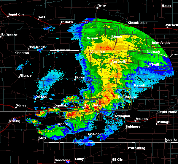 Radar Image for Severe Thunderstorms near Wallace, NE at 5/10/2018 10:17 PM CDT