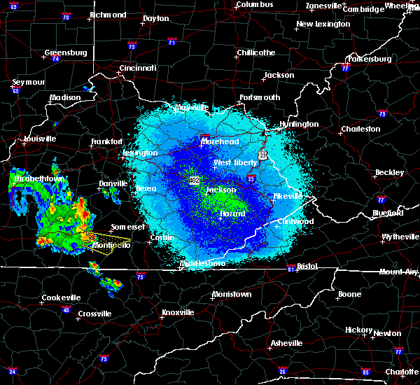 Radar Image for Severe Thunderstorms near Burnside, KY at 5/10/2018 11:41 PM EDT
