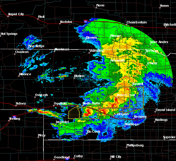 Radar Image for Severe Thunderstorms near Wallace, NE at 5/10/2018 11:11 PM CDT