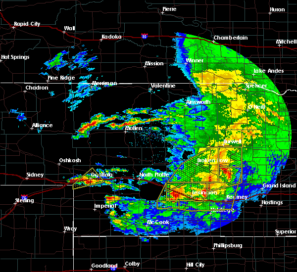 Radar Image for Severe Thunderstorms near Roscoe, NE at 5/10/2018 10:54 PM MDT