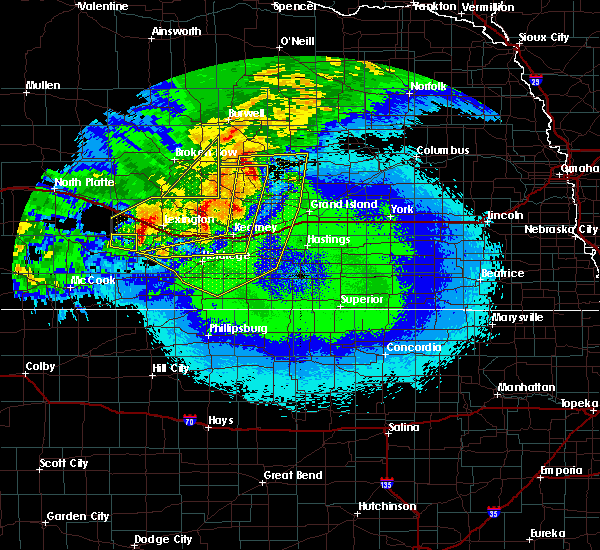 Radar Image for Severe Thunderstorms near Funk, NE at 5/11/2018 12:09 AM CDT