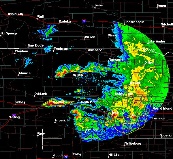 Radar Image for Severe Thunderstorms near Mason City, NE at 5/11/2018 12:28 AM CDT