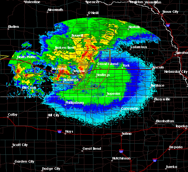 Radar Image for Severe Thunderstorms near Funk, NE at 5/11/2018 12:48 AM CDT