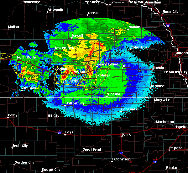 Radar Image for Severe Thunderstorms near Grand Island, NE at 5/11/2018 1:03 AM CDT