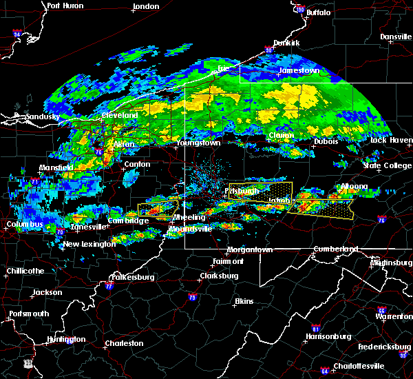 Radar Image for Severe Thunderstorms near Wintersville, OH at 5/12/2018 3:40 PM EDT