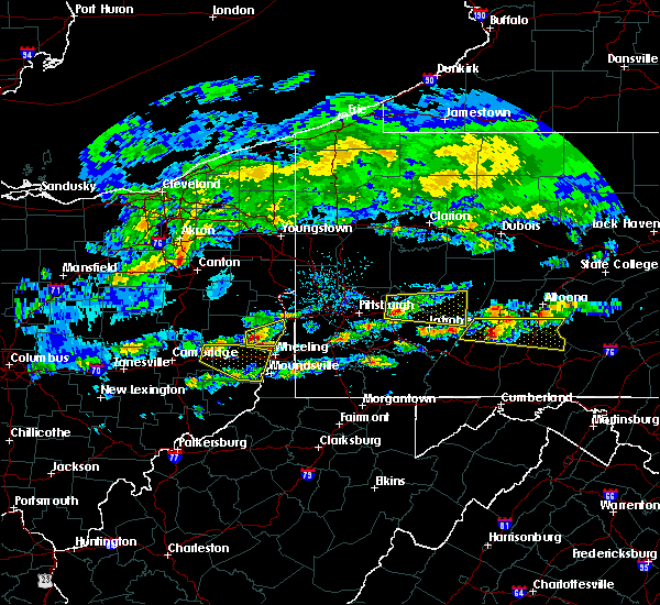 Radar Image for Severe Thunderstorms near Wintersville, OH at 5/12/2018 3:50 PM EDT