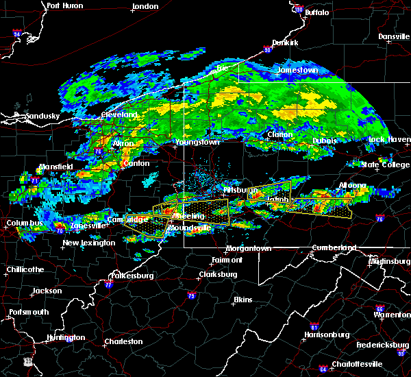 Radar Image for Severe Thunderstorms near Eighty Four, PA at 5/12/2018 3:59 PM EDT
