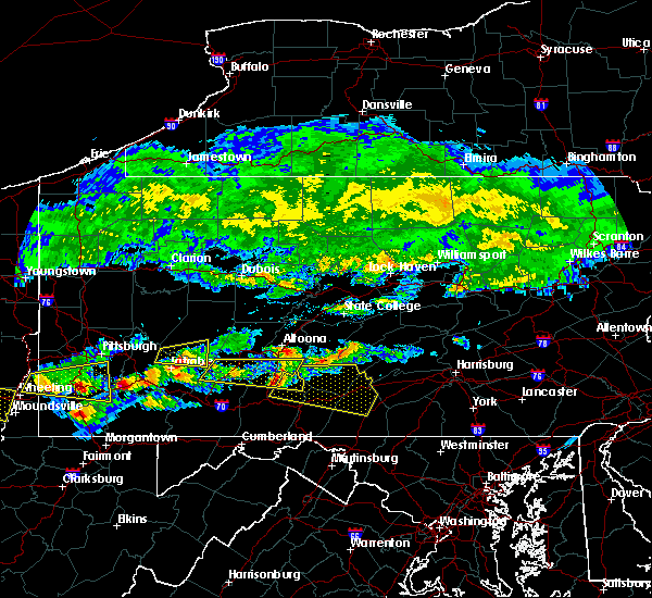 Radar Image for Severe Thunderstorms near Orrstown, PA at 5/12/2018 4:17 PM EDT
