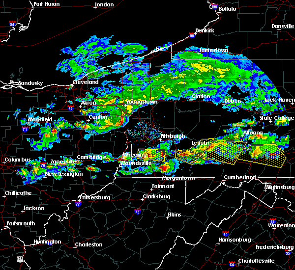 Radar Image for Severe Thunderstorms near Ellsworth, PA at 5/12/2018 4:32 PM EDT