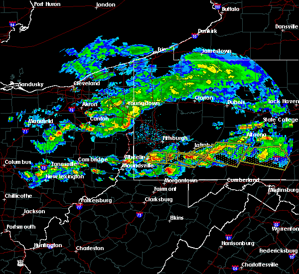 Radar Image for Severe Thunderstorms near Youngstown, PA at 5/12/2018 4:39 PM EDT