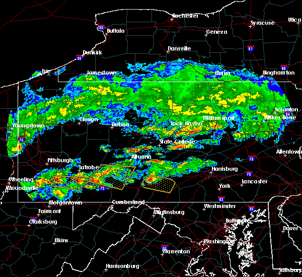 Radar Image for Severe Thunderstorms near Orrstown, PA at 5/12/2018 4:48 PM EDT