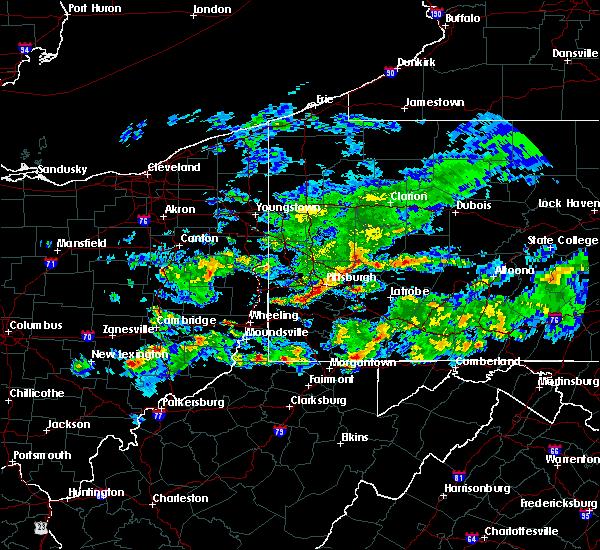 Radar Image for Severe Thunderstorms near Eighty Four, PA at 5/12/2018 5:33 PM EDT