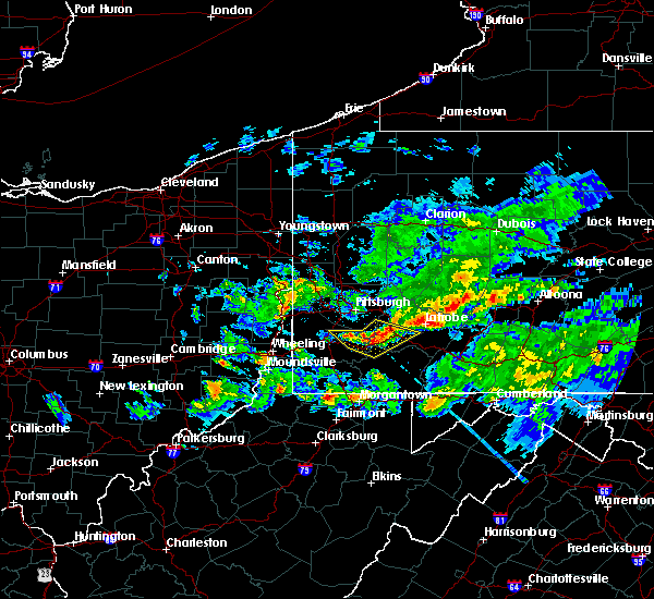 Radar Image for Severe Thunderstorms near Eighty Four, PA at 5/12/2018 6:03 PM EDT