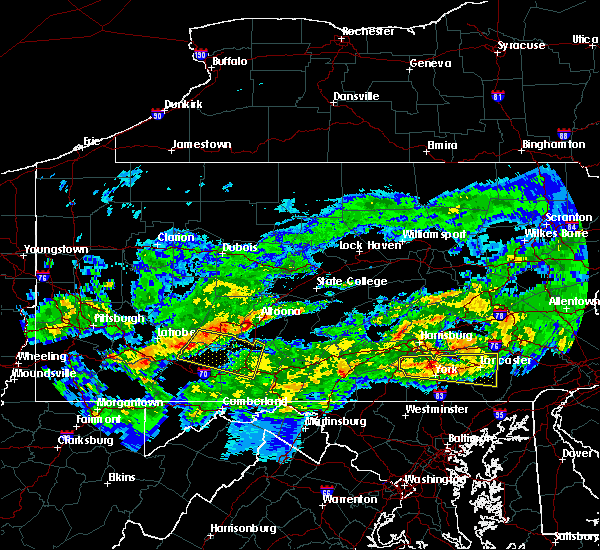 Radar Image for Severe Thunderstorms near Boswell, PA at 5/12/2018 6:24 PM EDT