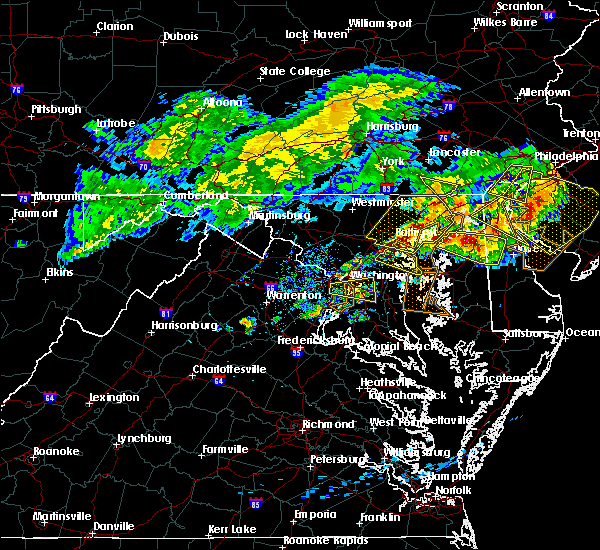 Radar Image for Severe Thunderstorms near Arbutus, MD at 5/12/2018 8:08 PM EDT