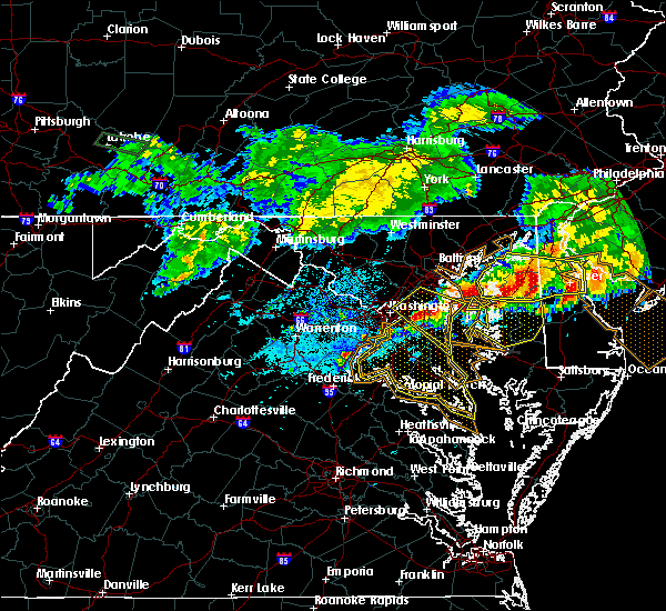 Radar Image for Severe Thunderstorms near Fort Washington, MD at 5/12/2018 8:53 PM EDT