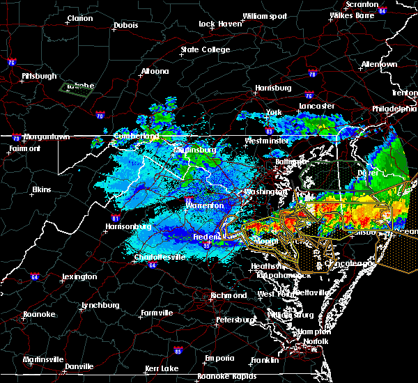Radar Image for Severe Thunderstorms near St. Leonard, MD at 5/12/2018 10:00 PM EDT