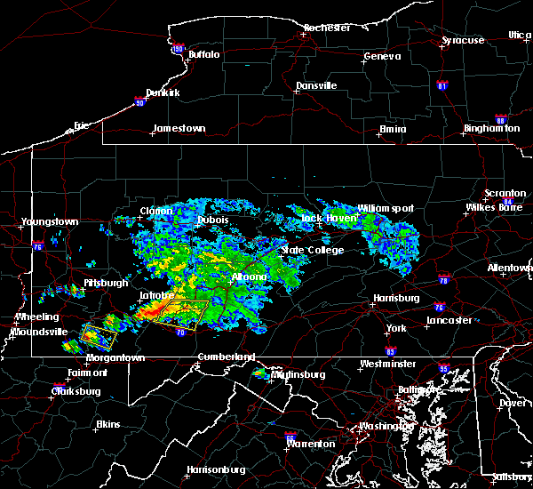 Radar Image for Severe Thunderstorms near Dunlo, PA at 5/13/2018 5:29 PM EDT