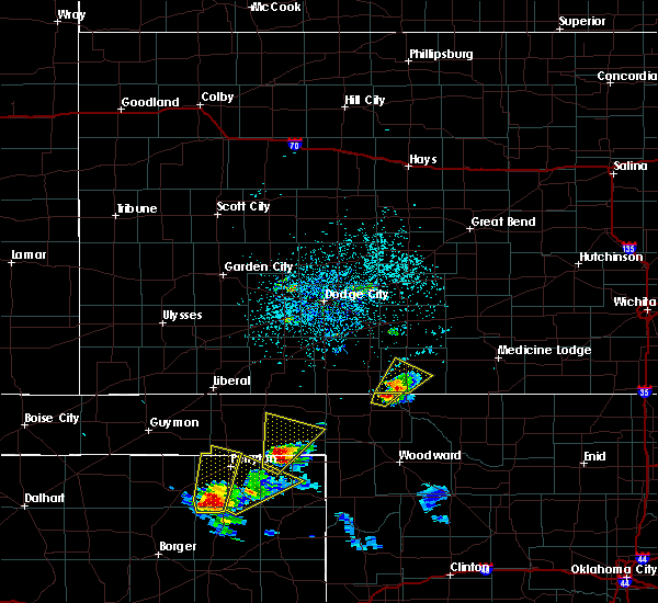 Radar Image for Severe Thunderstorms near Protection, KS at 5/13/2018 5:05 PM CDT