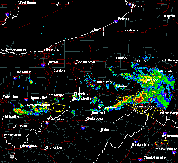 Radar Image for Severe Thunderstorms near Summerfield, OH at 5/13/2018 6:21 PM EDT