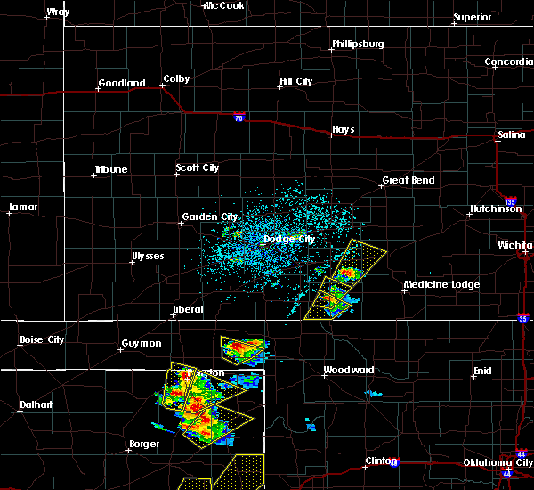 Radar Image for Severe Thunderstorms near Coldwater, KS at 5/13/2018 5:30 PM CDT