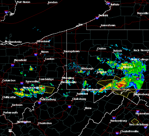 Radar Image for Severe Thunderstorms near Summerfield, OH at 5/13/2018 6:36 PM EDT