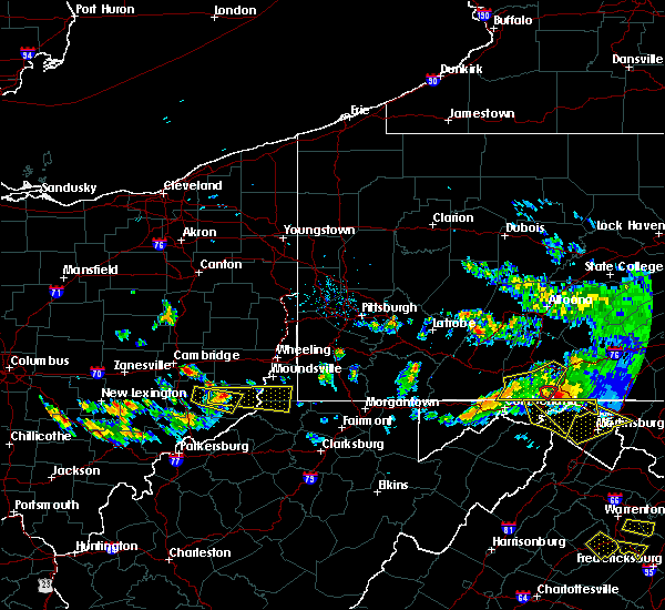 Radar Image for Severe Thunderstorms near Hannibal, OH at 5/13/2018 6:55 PM EDT