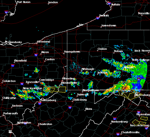 Radar Image for Severe Thunderstorms near Hannibal, OH at 5/13/2018 6:56 PM EDT