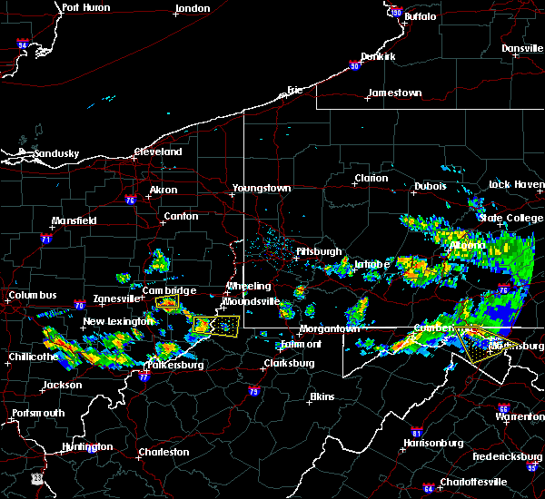 Radar Image for Severe Thunderstorms near Hannibal, OH at 5/13/2018 7:15 PM EDT