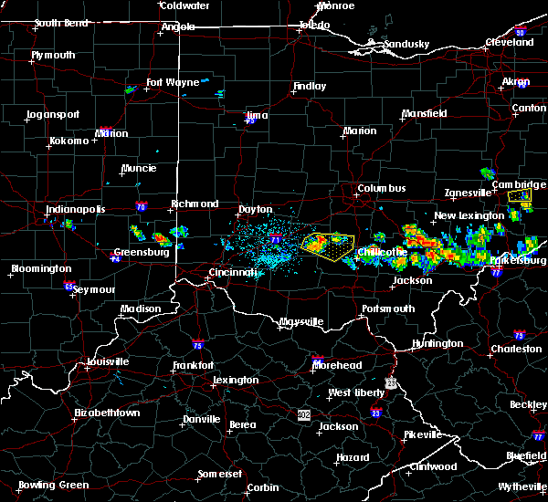 Radar Image for Severe Thunderstorms near Good Hope, OH at 5/13/2018 7:24 PM EDT