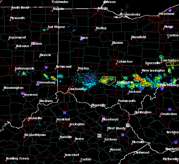 Radar Image for Severe Thunderstorms near Good Hope, OH at 5/13/2018 7:27 PM EDT
