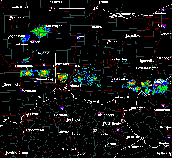 Radar Image for Severe Thunderstorms near Seven Mile, OH at 5/13/2018 8:47 PM EDT
