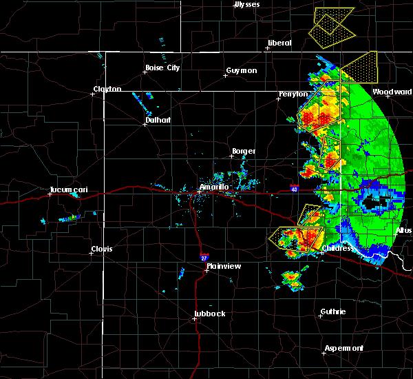 Radar Image for Severe Thunderstorms near Quail, TX at 5/13/2018 7:56 PM CDT