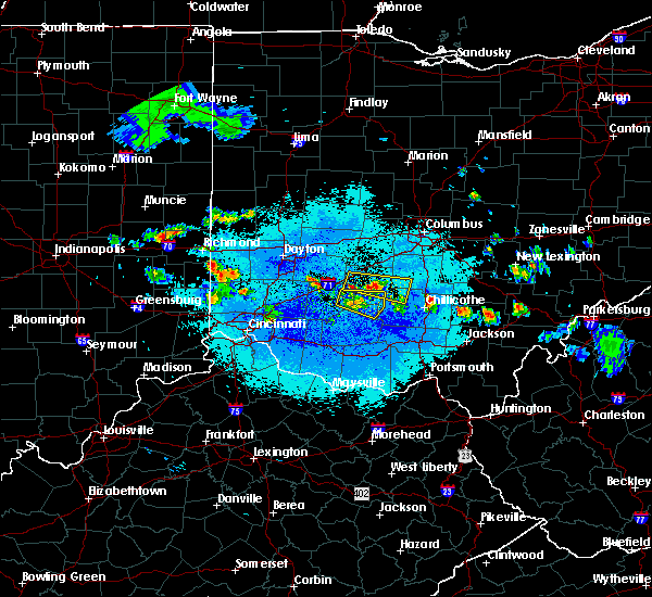 Radar Image for Severe Thunderstorms near Jeffersonville, OH at 5/13/2018 9:36 PM EDT