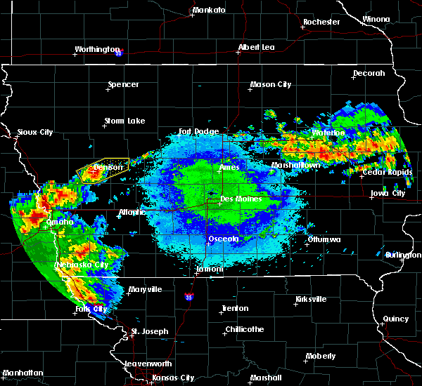 Radar Image for Severe Thunderstorms near Westside, IA at 5/14/2018 2:43 AM CDT