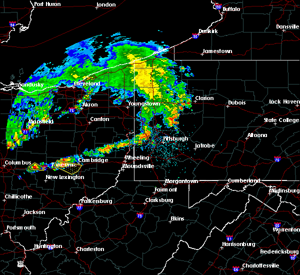 Radar Image for Severe Thunderstorms near Cambridge, OH at 5/14/2018 12:35 PM EDT