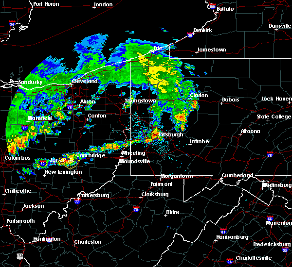 Radar Image for Severe Thunderstorms near Cambridge, OH at 5/14/2018 12:51 PM EDT