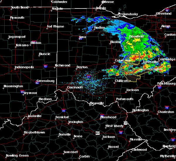 Radar Image for Severe Thunderstorms near Logan, OH at 5/14/2018 1:26 PM EDT
