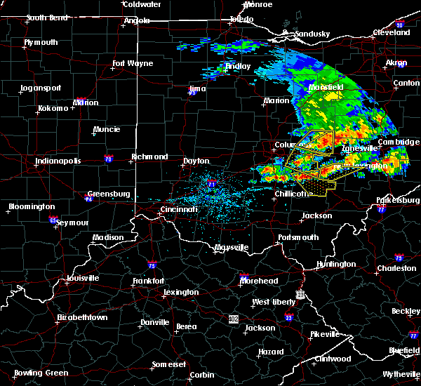 Radar Image for Severe Thunderstorms near Marne, OH at 5/14/2018 1:30 PM EDT