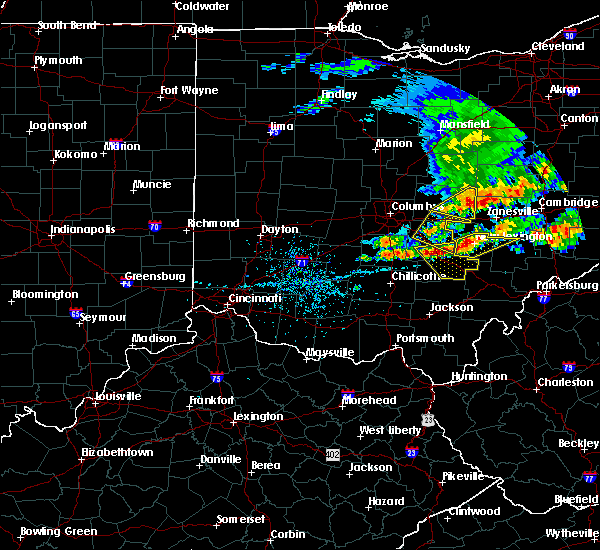 Radar Image for Severe Thunderstorms near Rushville, OH at 5/14/2018 1:33 PM EDT