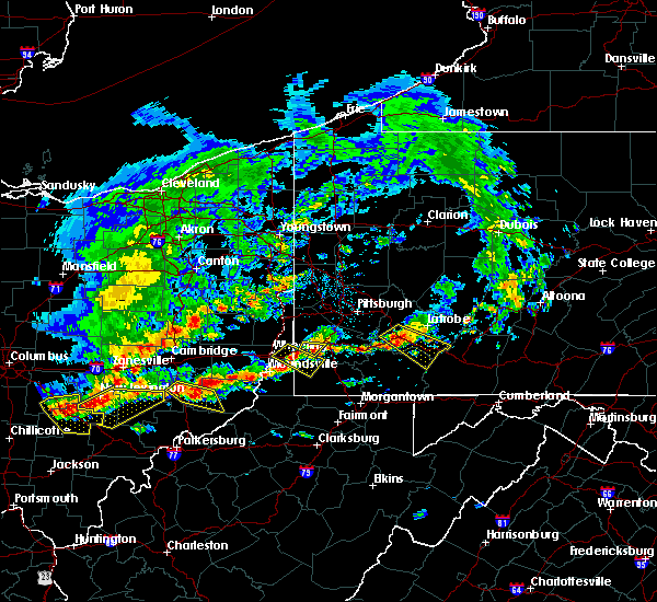 Radar Image for Severe Thunderstorms near Summerfield, OH at 5/14/2018 1:48 PM EDT