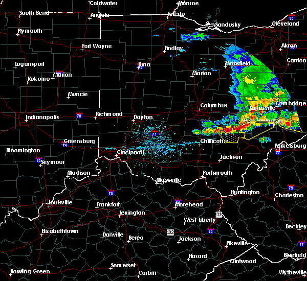 Radar Image for Severe Thunderstorms near Logan, OH at 5/14/2018 1:51 PM EDT