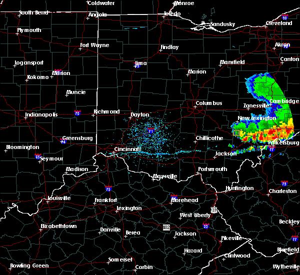 Radar Image for Severe Thunderstorms near Nelsonville, OH at 5/14/2018 2:41 PM EDT